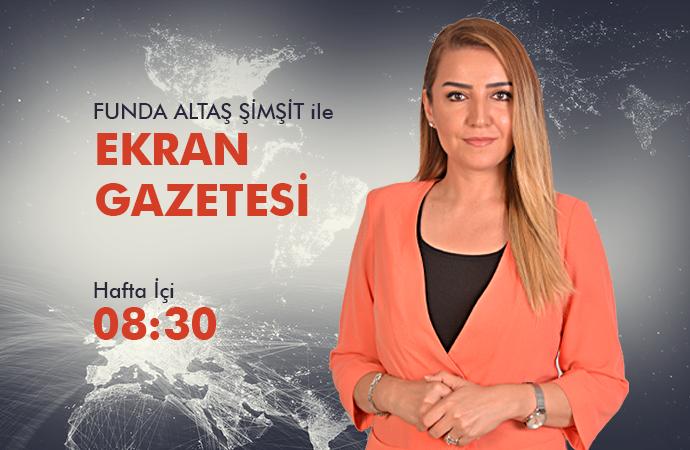 EKRAN GAZETESİ TÜRK KIZILAYI ORDU ŞUBE BŞK BİRNUR FATMA ENGİNYURT 28 04 2020