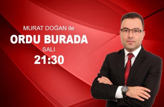 ORDU BURADA ÇAYBAŞILILAR DERNEĞİ BŞK EROL BAYIR 29 10 2019