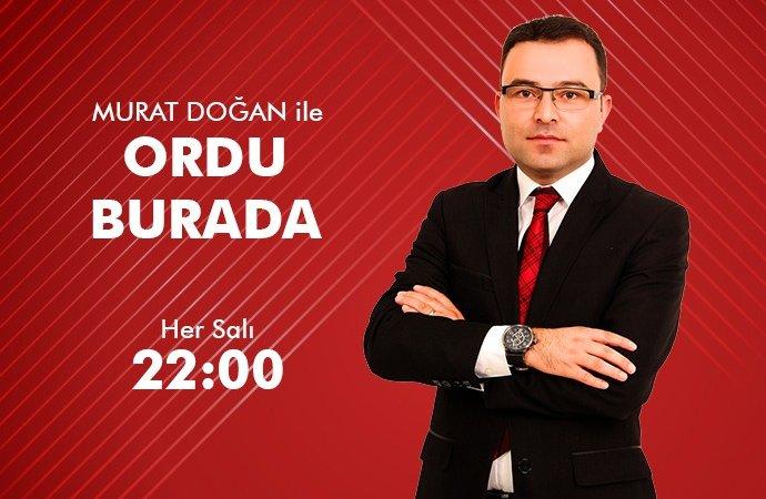 ORDU BURADA KORGAN DERNEKLER FED BŞK FATİH YEŞİLÇAYIR 13 10 2020